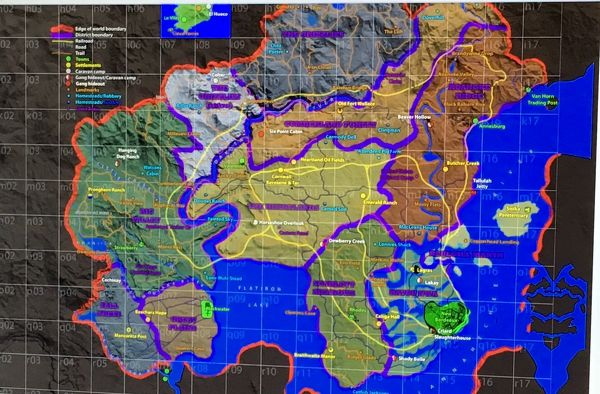 Red Dead Retribution Map