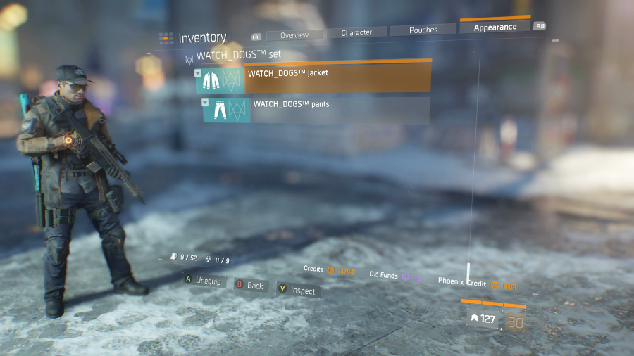 The Division Watch Dogs Outfit