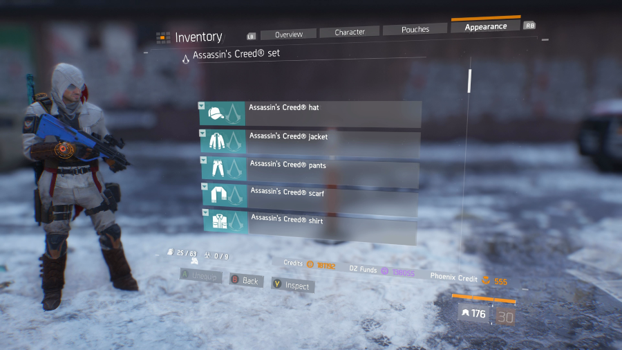 The Division Assassin's Creed Outfit