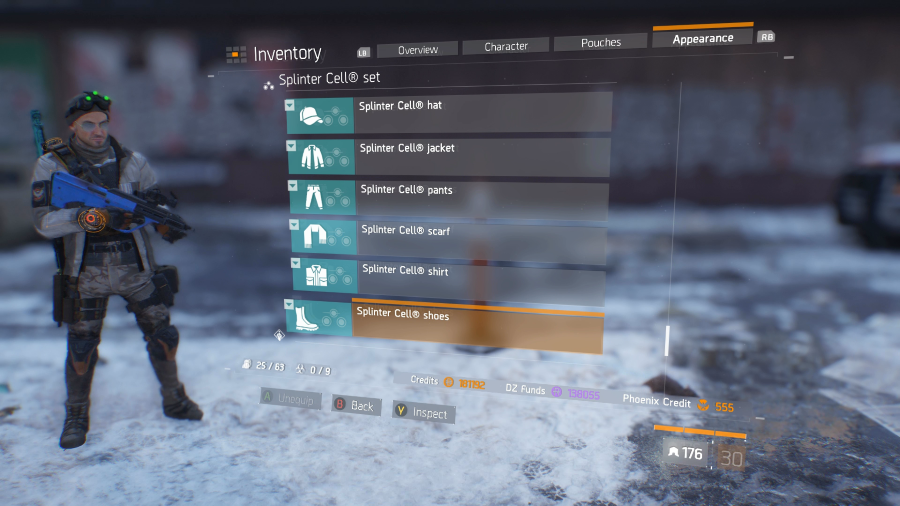 The Division Splinter Cell Outfit