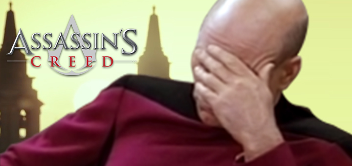 Assassins Creed Movie Facepalm