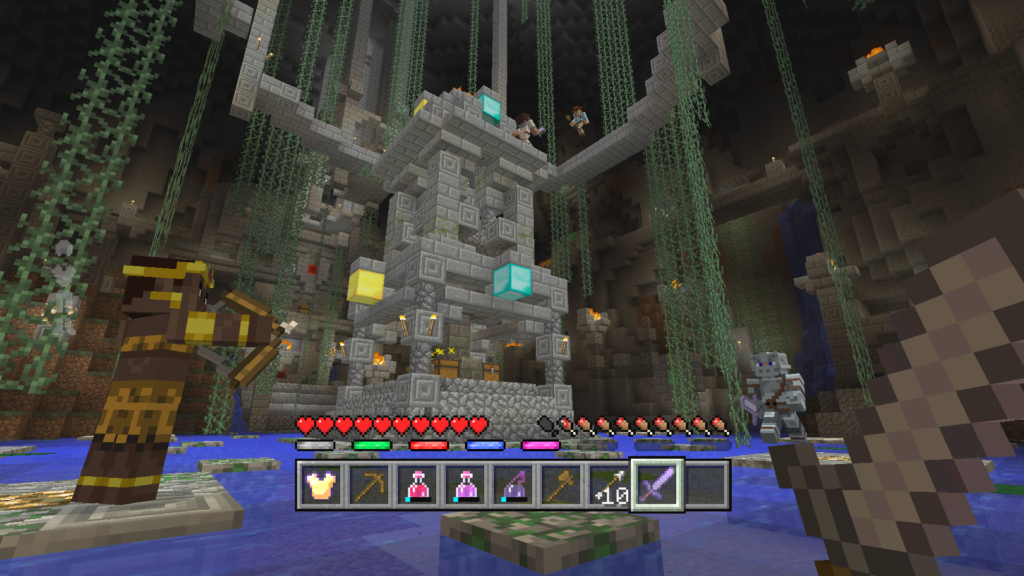 Minecraft Battle Cavern