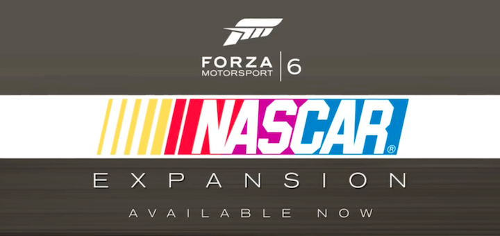 Forza Motorsport 6 NASCAR Expansion