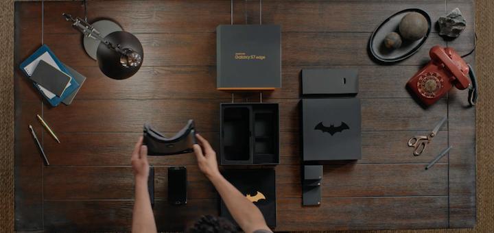 Galaxy S7 edge Injustice Edition Box