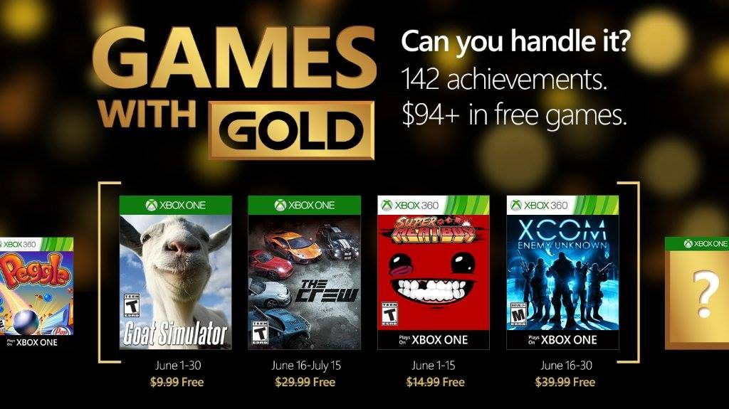 Games with Gold June 2016