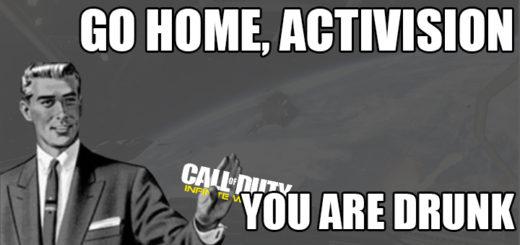 Go Home Activision Infinite Warfare