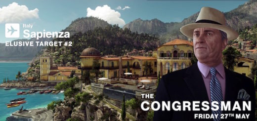 HITMAN Elusive Target 2 Congressman