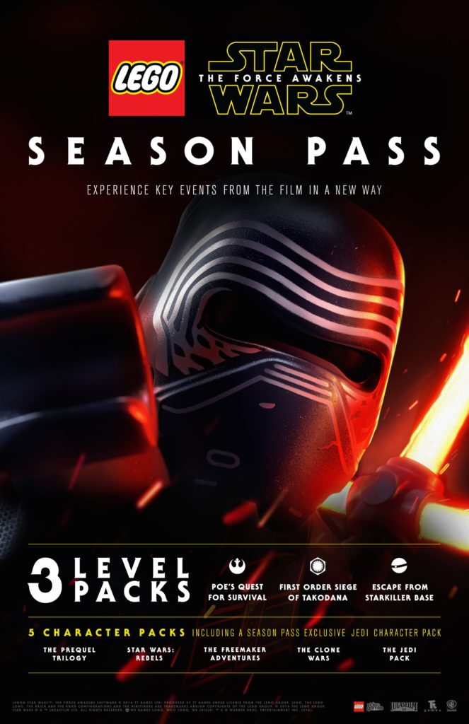 LEGO Star Wars The Force Awakens Season Pass