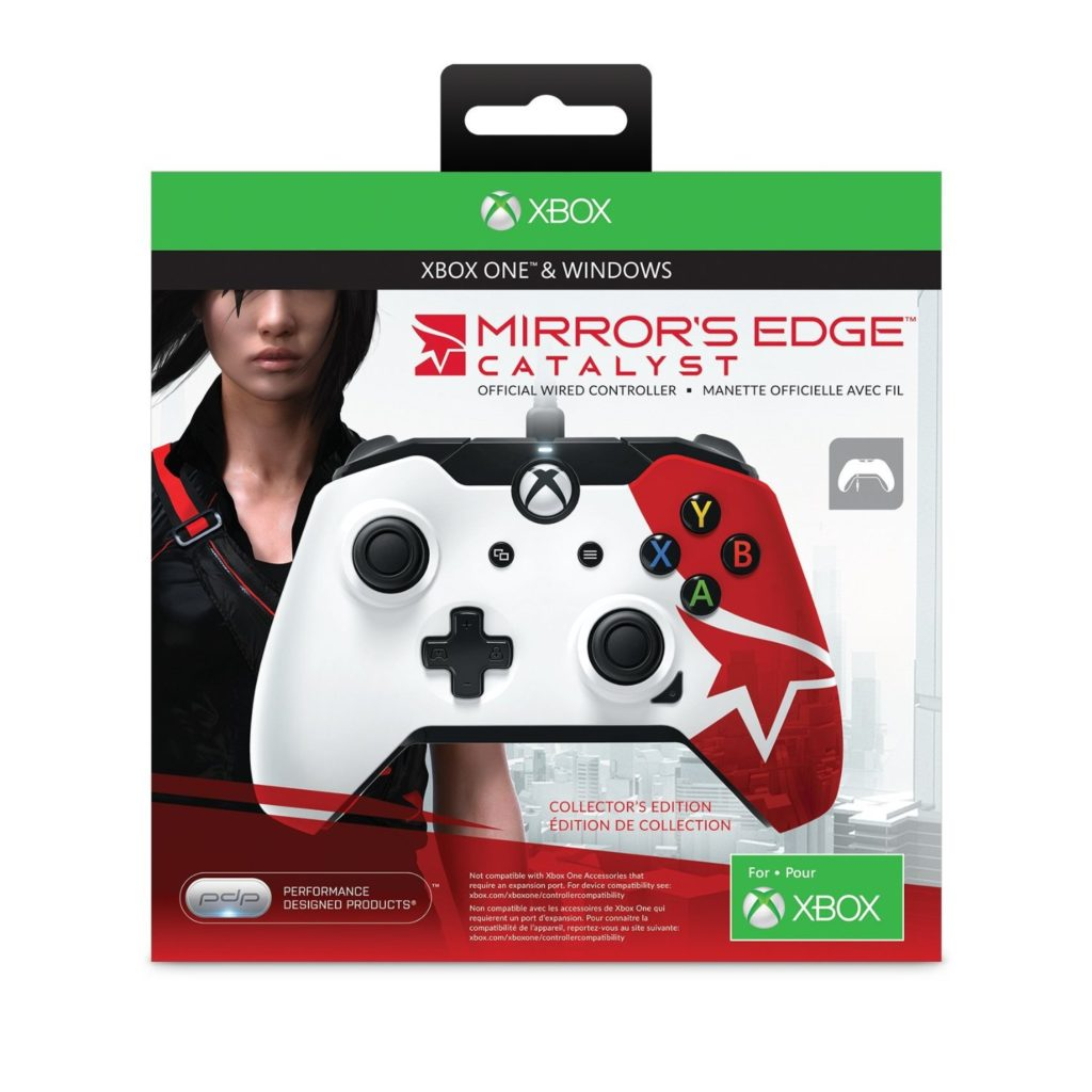 Xbox One Mirror's Edge Catalyst Gamepad