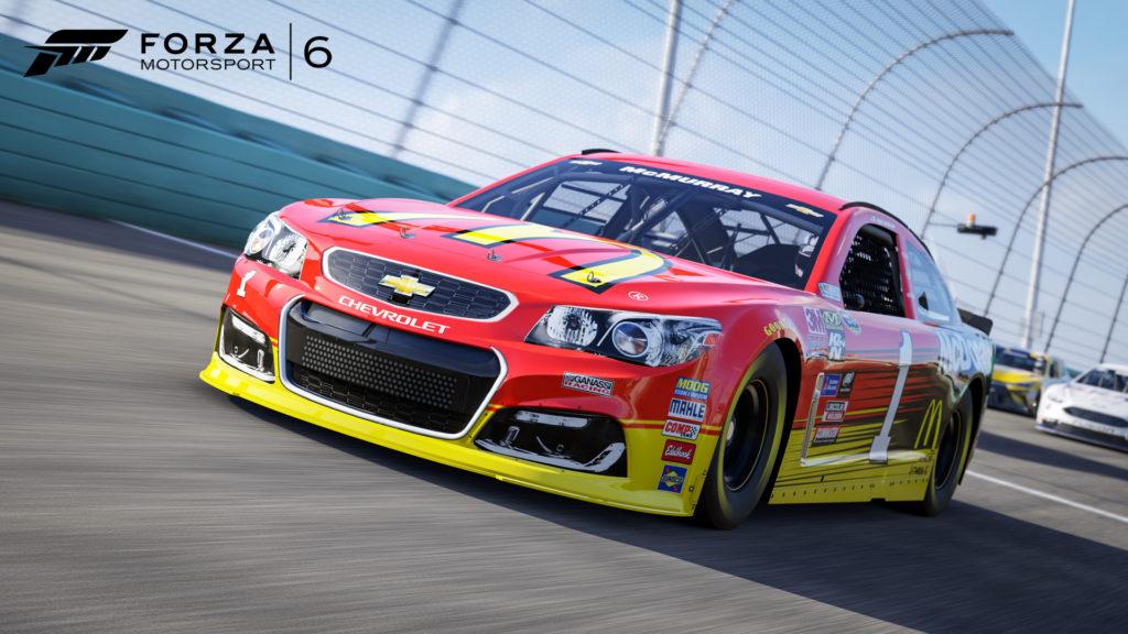 NASCAR CGR Chevy SS McDonalds