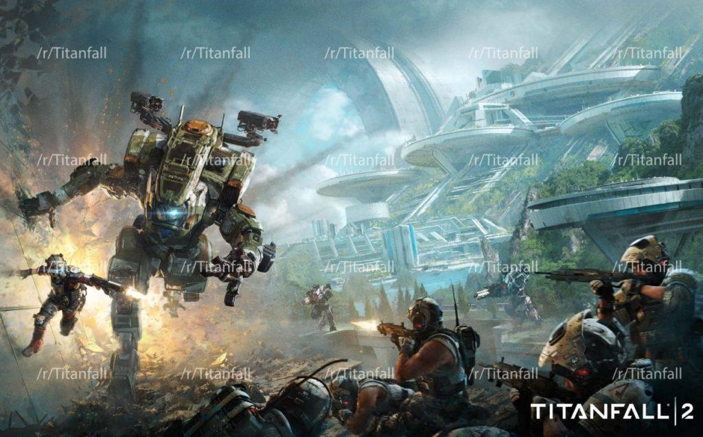Titanfall 2 Leaked Art