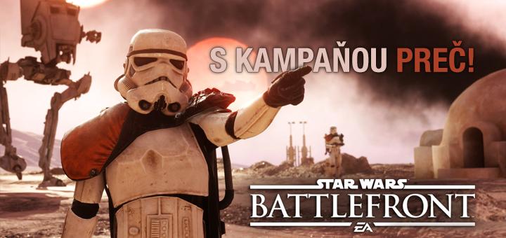 Prečo chýba kampaň v Battlefront?