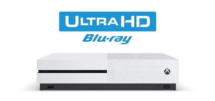 4K UHD Xbox One S