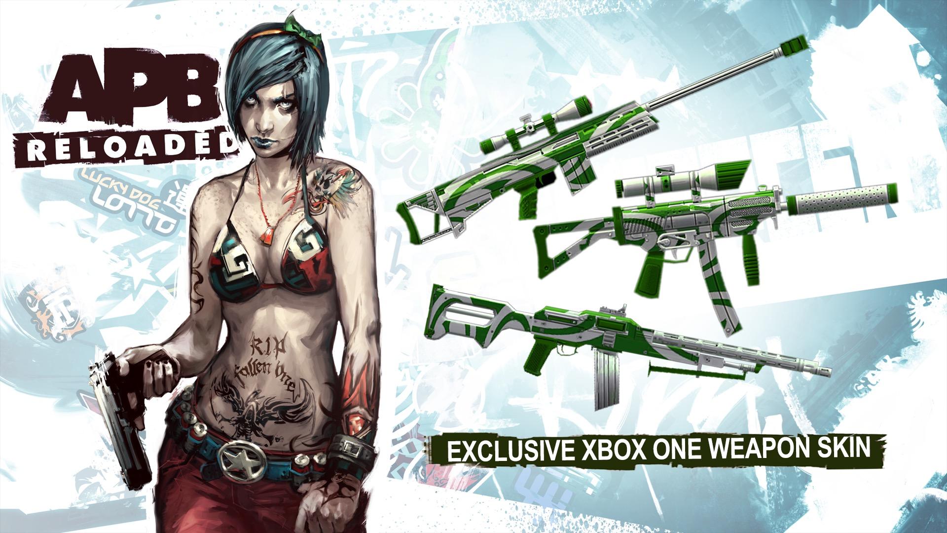 APBReloaded_Exclusive XB1 Weapon Skin