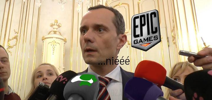 Epic Games si nasrali do huby