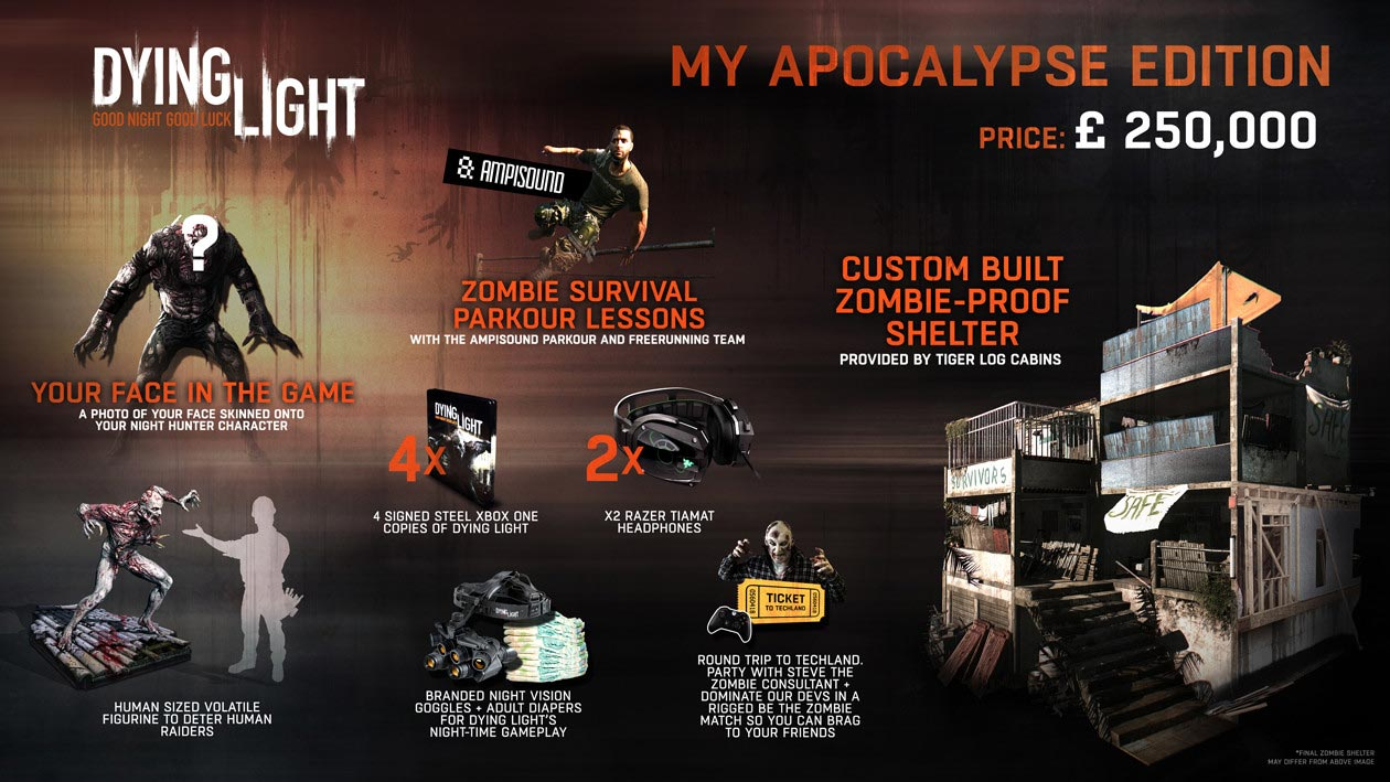 Dying Light My Apocalypse Edition