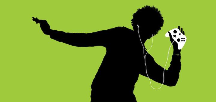 Xbox Hudba na pozadi