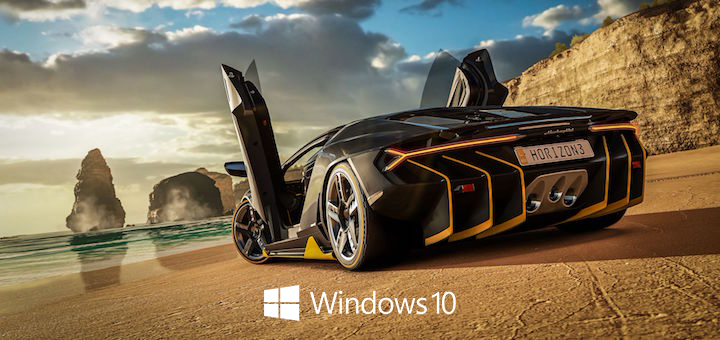 Forza Horizon 3 Windows 10