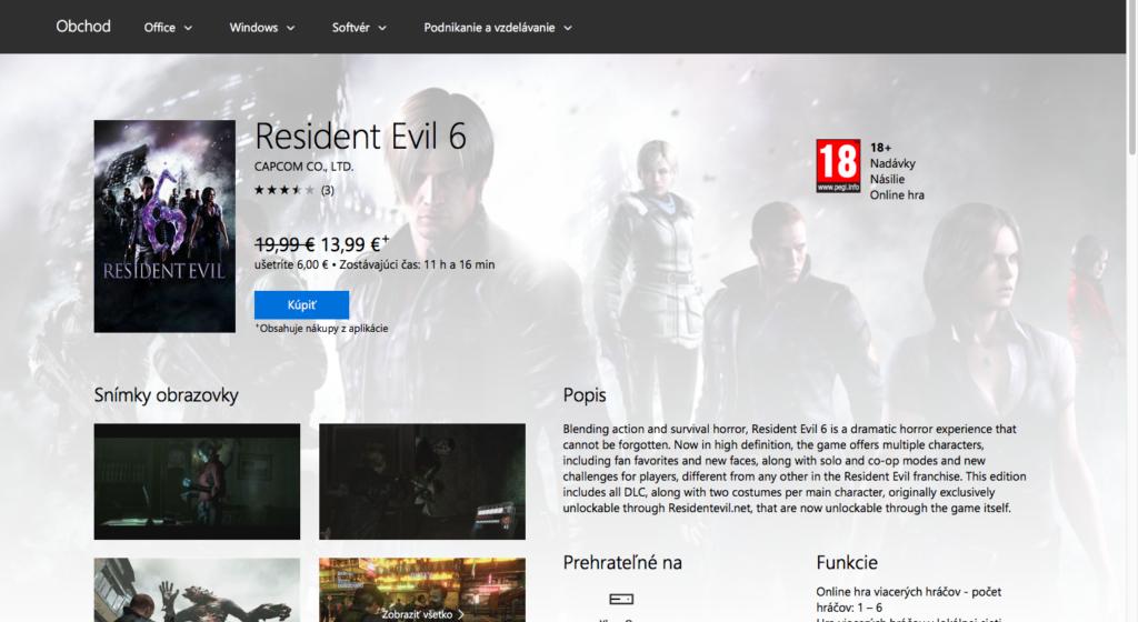 Microsoft Xbox Store 2016