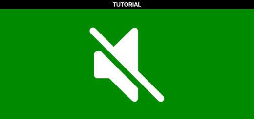 Xbox One Mute Startup Sound