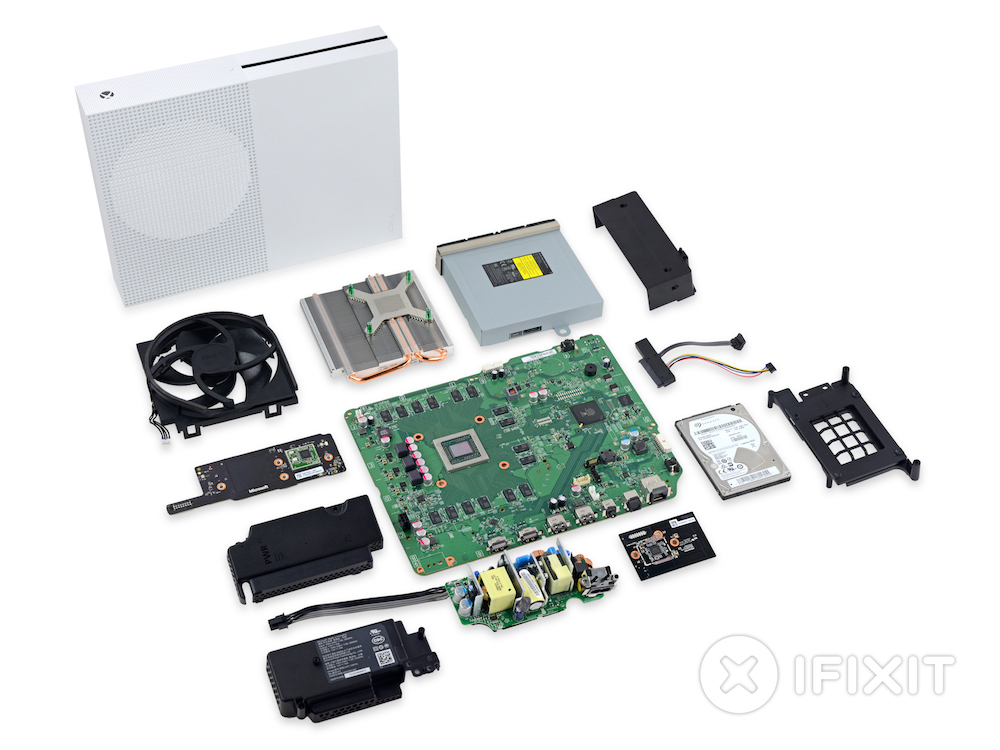 Xbox One S Teardown