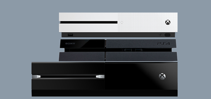 Xbox One vs PS4 vs Xbox One S