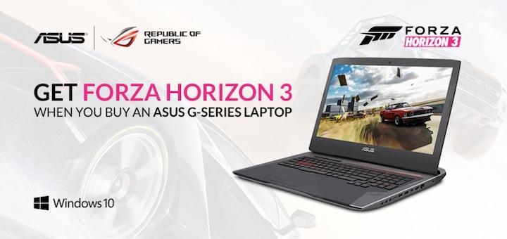 ASUS Forza Horizon 3