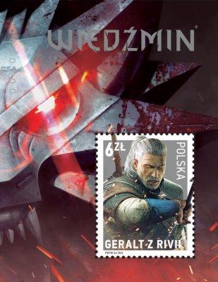Geralt z Rivie postova znamka