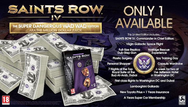 Saints Row IV Super Dangerous Wad Wad Edition
