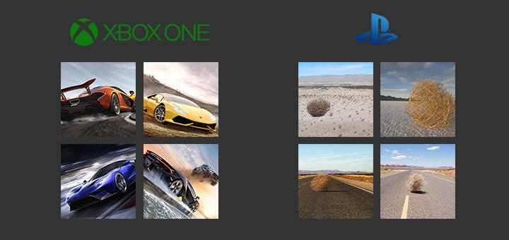 Xbox Forza vs PS Gran Turismo