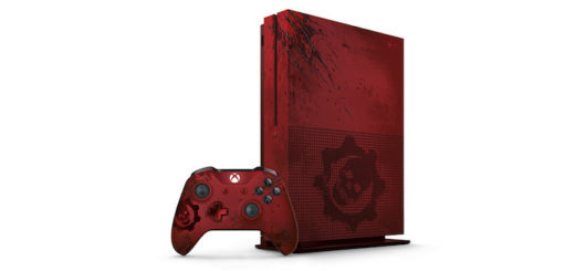 Xbox One S Gears of War console