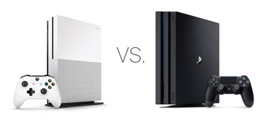 Xbox One S vs PS4 Pro
