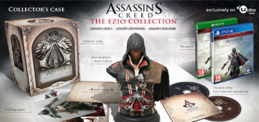 Assassin's Creed: The Ezio Collection sběratelka