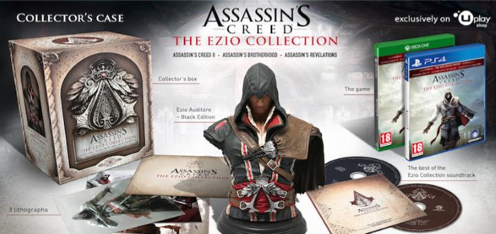 Assassin's Creed: The Ezio Collection sběratelka