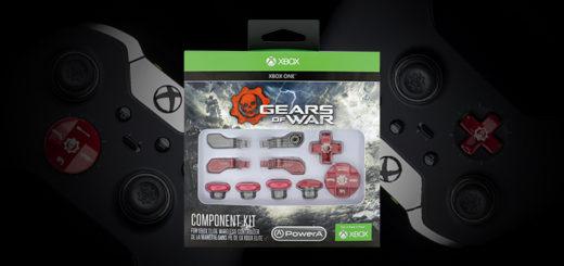 PowerA Gears of War Elite Controller Component Kit