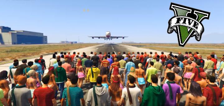 GTA V Plane Experiment