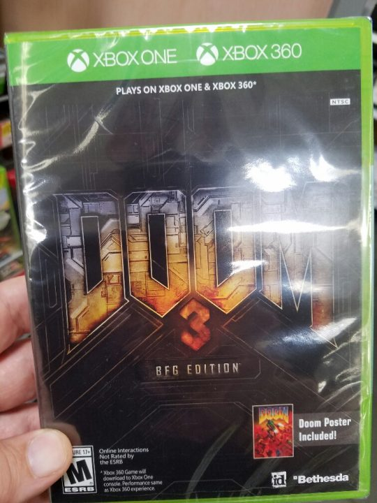 DOOM 3 Xbox One Cover