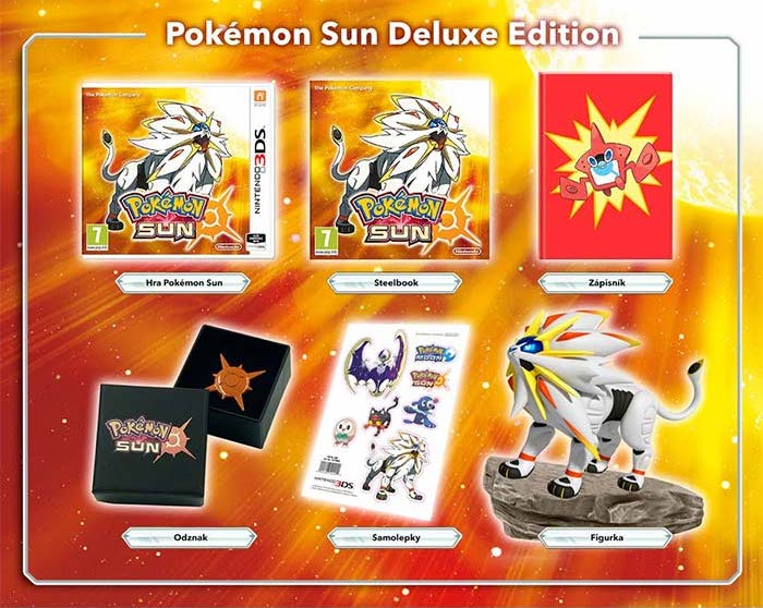 Pokemon Sun ProGamingShop Deluxe Edition