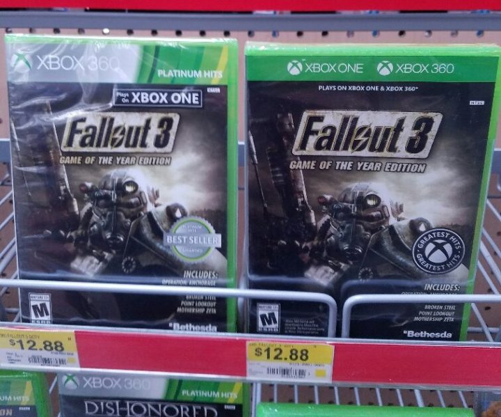 Fallout 3 Xbox One Cover
