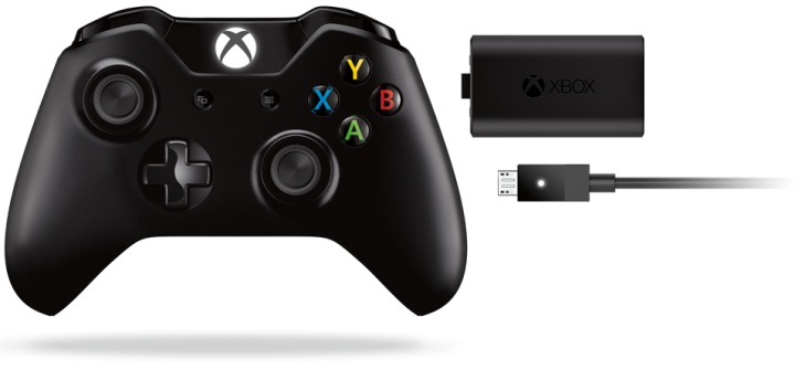 Xbox One Wireless Controller + Play &Charge Kit