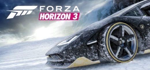 Forza Horizon 3 sníh