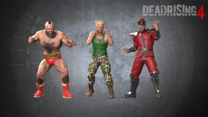 Dead Rising 4 Street Fighter DLC