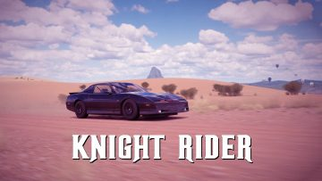 Forza Horizon 3 Knight Rider