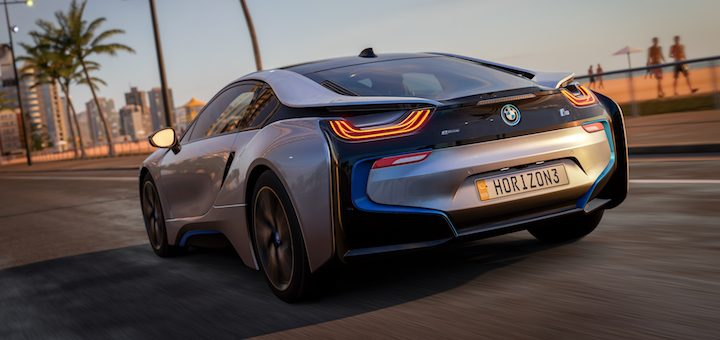 2015 BMW i8 in Forza Horizon 3 Rockstar Car Pack