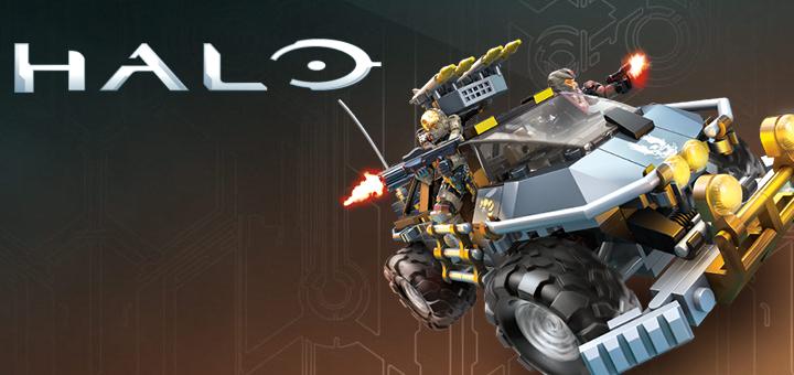 Mega Bloks Halo Haggar Game