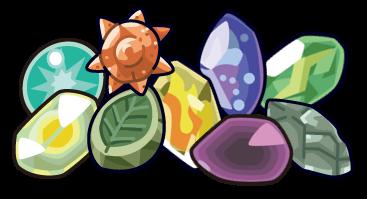 Pokemon GO Gen2 Evolution Stones