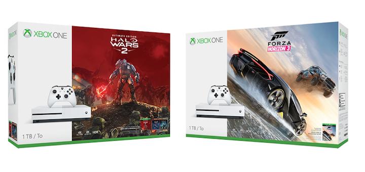 Xbox One Halo Wars 2 Forza Horizon 3 bundle
