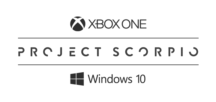Xbox One Project Scorpio Windows 10