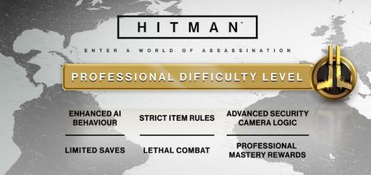 HITMAN Professional Difficulty