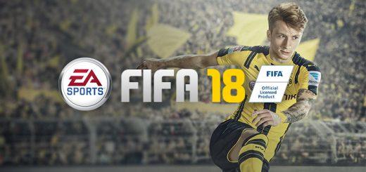 EA Sports FIFA 18 Logo